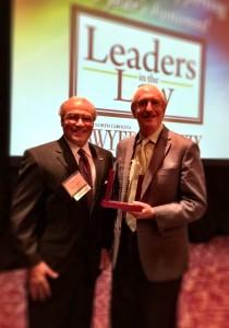 Robert Zaytoun with client Dr. Eric Rappaport.